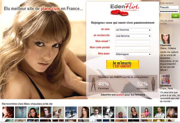 Edenflirt Arnaque, Avis & Coupon promo