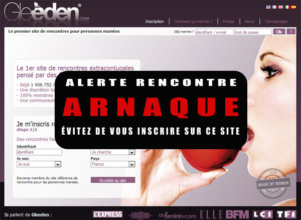 Gleeden Arnaque, Avis & Coupon promo